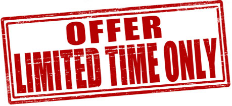 banner offer limited time only